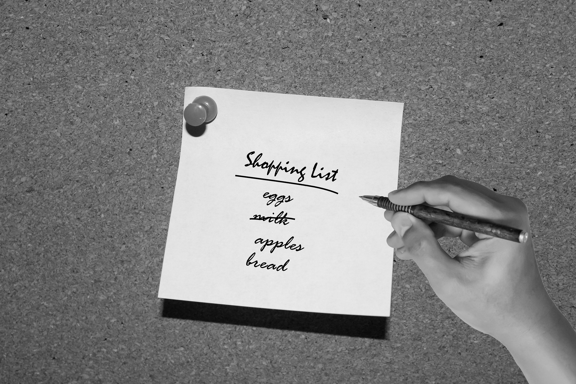 Moja lista zdrowych zakupów